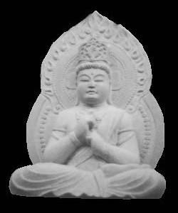 大日如来|石彫刻 /石仏・ 狛犬・創作|京都の石屋 / 特注品|芳村石材店