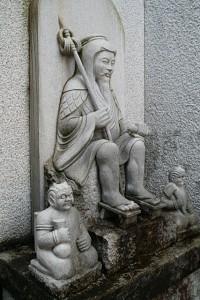 石仏 誠心院観音|石彫刻 /石仏・ 狛犬・創作|京都の石屋 / 特注品|芳村石材店
