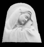マリア像|石彫刻 /石仏・ 狛犬・創作|京都の石屋 / 特注品|芳村石材店