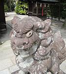 狛犬画|石彫刻 /石仏・ 狛犬・創作,|京都の石屋 芳村石材店