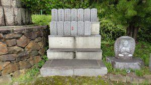 合祀墓専用の戒名碑 お戒名、先祖代々等をお彫入れします。