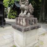 敷地神社 狛犬|狛犬 (こまいぬ) |石彫刻 /石仏・ 狛犬・創作,|京都の石屋 芳村石材店