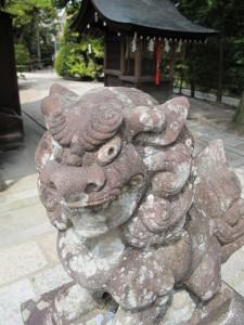 わら天神・狛犬|狛犬 (こまいぬ) |石彫刻 /石仏・ 狛犬・創作|京都の石屋 芳村石材店
