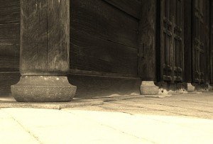 社寺建築の石仕事