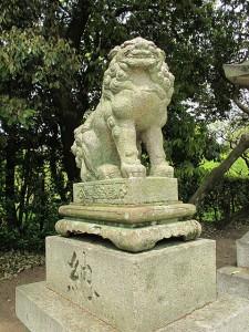 北野天満宮狛犬(三の鳥居)②|狛犬 (こまいぬ) |石彫刻 /石仏・ 狛犬・創作,|京都の石屋 芳村石材店