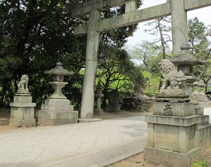 北野天満宮狛犬(三の鳥居)|狛犬 (こまいぬ) |石彫刻 /石仏・ 狛犬・創作,|京都の石屋 芳村石材店