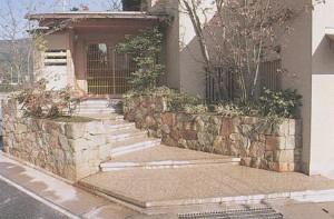 京町家、数奇屋造りの石仕事|石の建築物|京都の石屋/特注品|芳村石材店