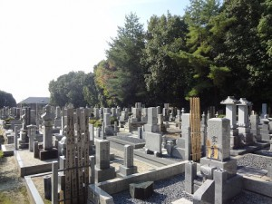 京都霊園,墓地,墓石, 仁和寺