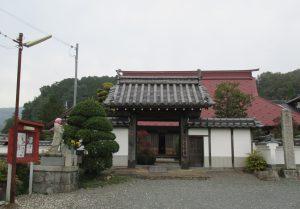 長楽寺の門前
