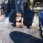 土の入れ替えプラン 基礎工事|京都でのお墓相談,お墓のリフォームプラン