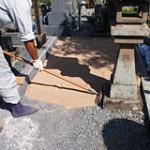 土の入れ替えプラン 特殊土工事|京都でのお墓相談,お墓のリフォームプラン