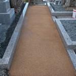 土の入れ替えプラン 特殊土完成|京都でのお墓相談,お墓のリフォームプラン