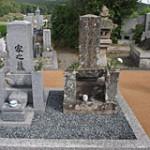 土の入れ替えプラン 完成|京都でのお墓相談,お墓のリフォームプラン