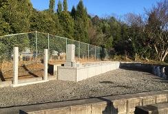新・悠久墓と、大塔婆立て