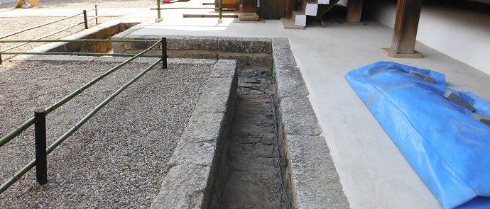 仁和寺観音堂溝石据直し, 世界遺産, 重要文化財