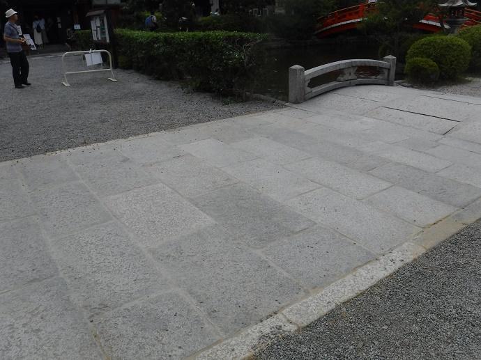神泉苑参道石工事、完成