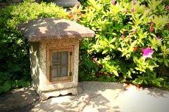 stone lantern for Japanese garden