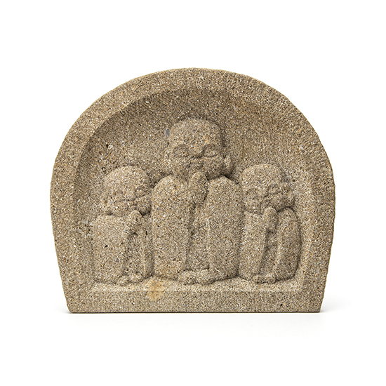 three warabe jizo relief