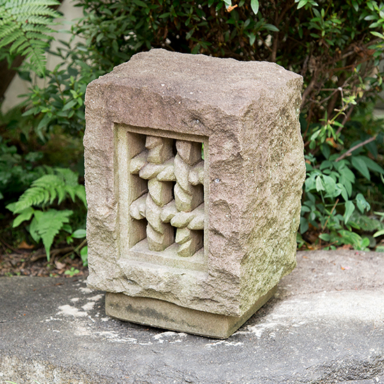 kimachi stone lantern, oki toro
