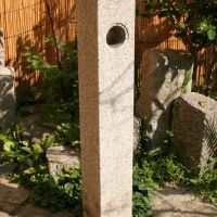 Guide stone, a traditional Japanese stone products